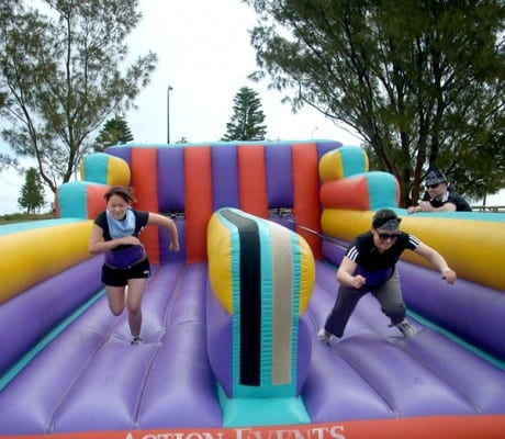 It's a knockout outdoor games
